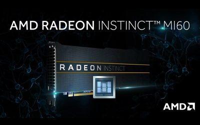AMD presenta las primeras GPU para Data Centers de 7nm