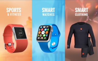 Cerca de 200 millones de dispositivos wearables se venderán este año