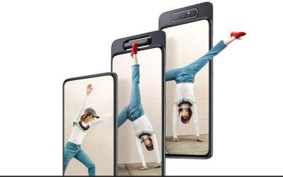 Samsung lanza un smartphone con cámara giratoria