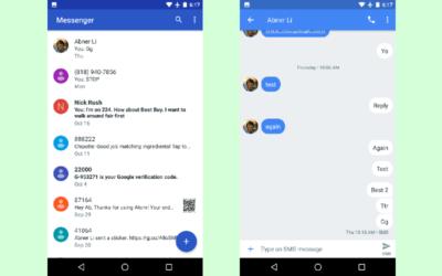 Google anuncia su propio servicio de mensajería