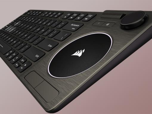 CORSAIR estrena su teclado K83 Wireless Entertainment