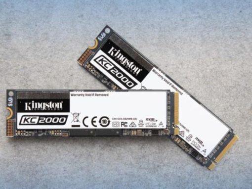 Kingston presenta el SSD KC2000 NVMe PCIe de última generación