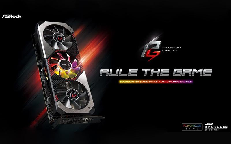 ASRock presenta las Phantom Gaming Radeon RX 5700