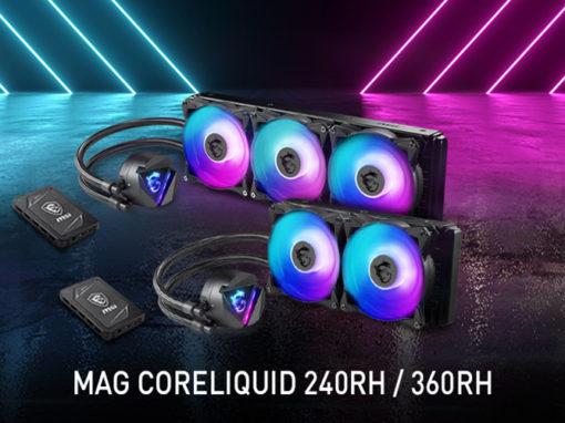 MSI anuncia sus nuevos sistemas de refrigeración líquida todo-en-uno MAG CoreLiquid Series
